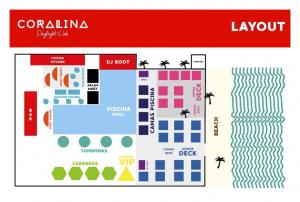 mapa coralina daylight club playa del carmen